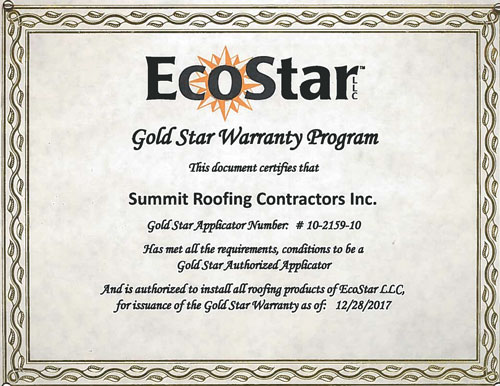 Roofing Industry Certifications