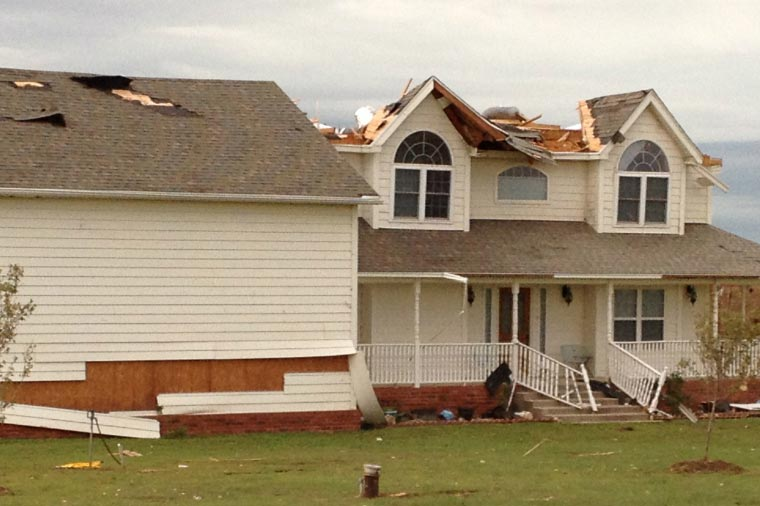storm damage roofing repair company dumfries